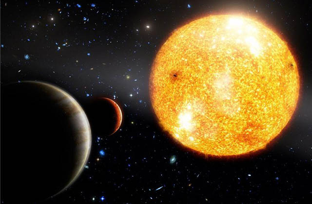 12 8 Billion Year Old Planetary System Discovered