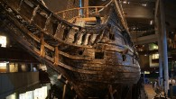 The Vasa, a Swedish warship built 1626-1628. The ship sank after sailing less than a nautical mile into its maiden voyage on 10 August 1628 (Javier Kohen)