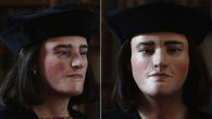 Reconstruction of the face of England's King Richard III (© Richard III Society)