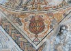 Detail of a 1,500-year-old mosaic found at an archaeological site in Kibbutz Bet Qama, Israel (Yael Yolovitch)