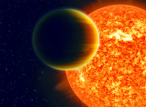 the discovery of three dry jupiter like exoplanets in space Of the more than 200 exoplanets so far discovered, a great many are jupiter-like gas giants that experience blazing temperatures because they orbit close in to much hotter stars the gliese 581 super-earth is in what scientists also sometimes call the goldilocks zone, where temperatures are just right for life to have a chance to exist.
