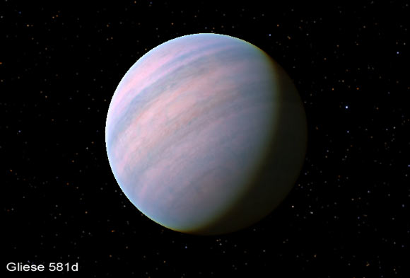 Potentially Habitable Super-Earth Gliese 581d Probably ...