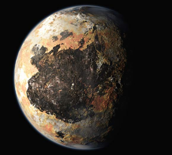 what color is pluto the planet - photo #15