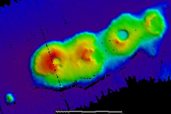 Ancient Underwater Volcanoes Discovered off Australia ...