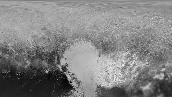 nasa releases updated global map of pluto space