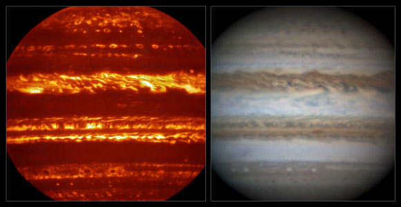 Images of the Earth from space in invisible wavelengths? Image_3981_2-Infrared-Jupiter