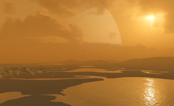 Saturn's Moon Titan Has Eerie Lakes On Its Surface Just Like Earth