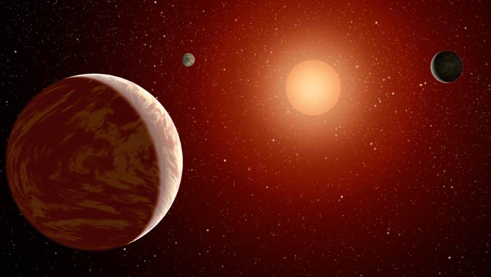 Gliese 832 Hosts at Least Three Exoplanets, Astrophysicists Say | Astronomy | Sci-News.com
