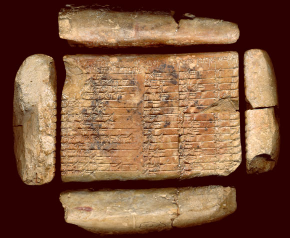 mathematicians crack mystery of babylonian clay tablet