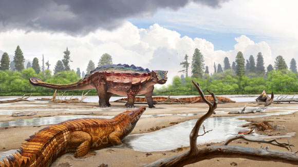 Look at This Incredible New Armoured Dinosaur Found in Utah