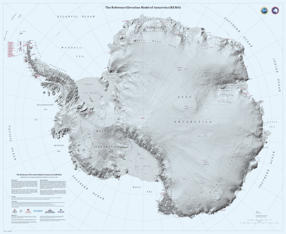 High Res Us Map.New High Resolution Map Of Antarctica Unveiled Geography