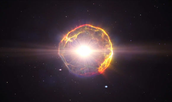 Supernova likely caused mass extinction on Earth