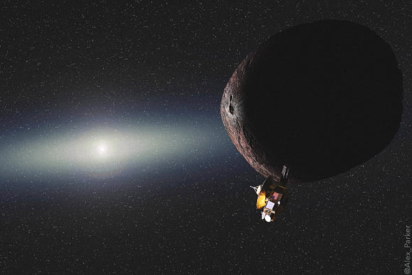 NASA's New Horizons is poised for a historic New Year's Day flyby