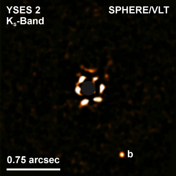 Astronomers Directly Image Giant Planet around Young Sun-Like Star thumbnail
