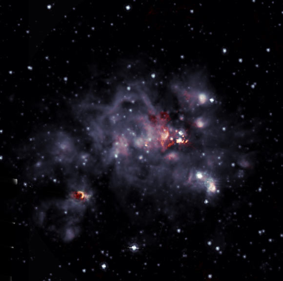 <p>Astronomers Take Closer Look at Giant Molecular Cloud W49A thumbnail