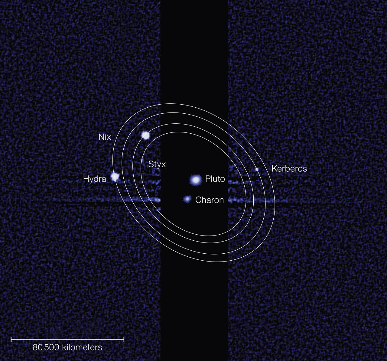 Kerberos Moon Of Plluto: Kerberos And Styx: Pluto's Two Recently Discovered Moons