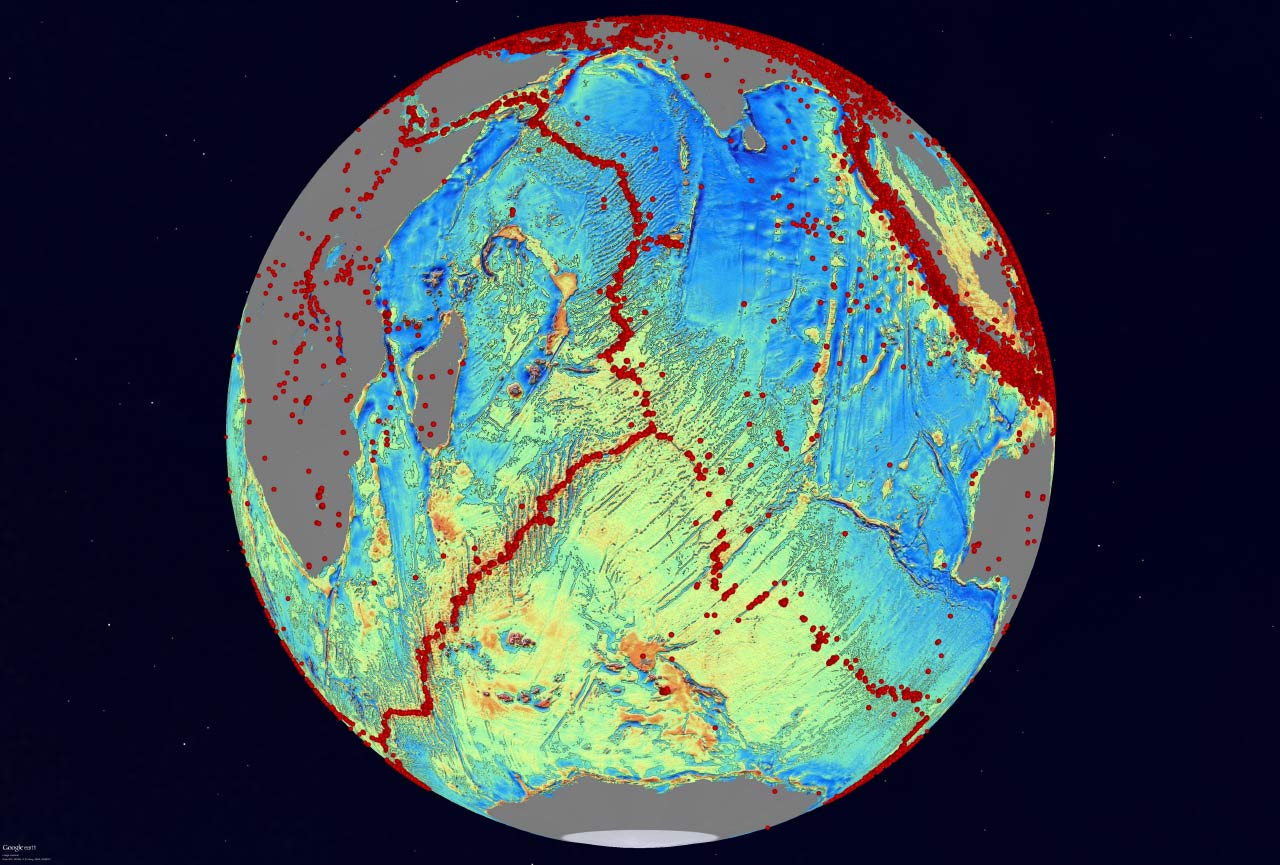 New Map Of World's Seafloor Exposes Thousands Of
