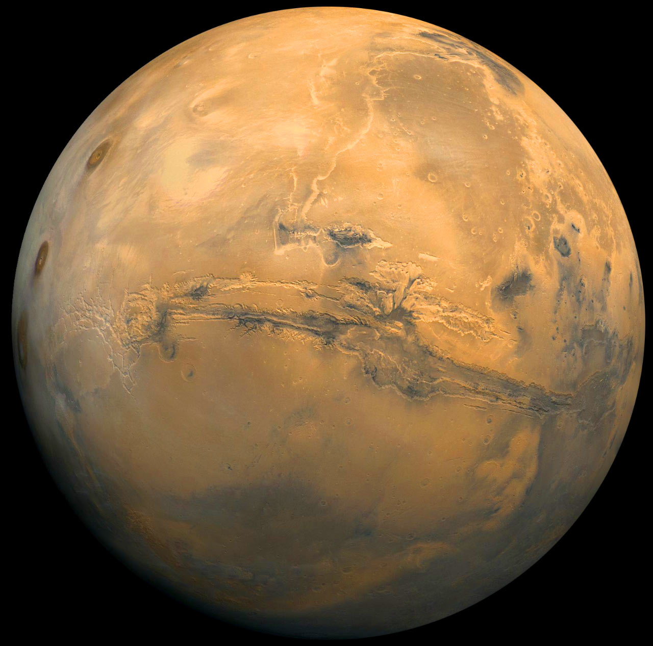 Scientists Find Evidence for Ancient Glaciers on Mars ...