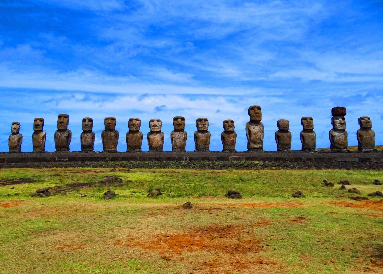 an analysis of the early inhabitants of the easter island Recent studies have proven that the thousands of pieces of rock found scattered around easter island are not  easter island inhabitants  analysis the objects .