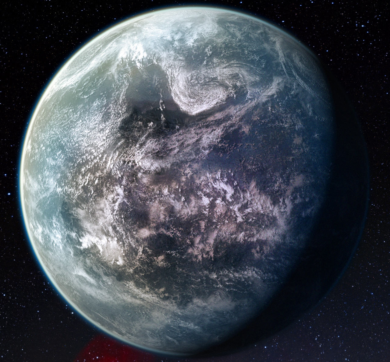 alien water planet - photo #14