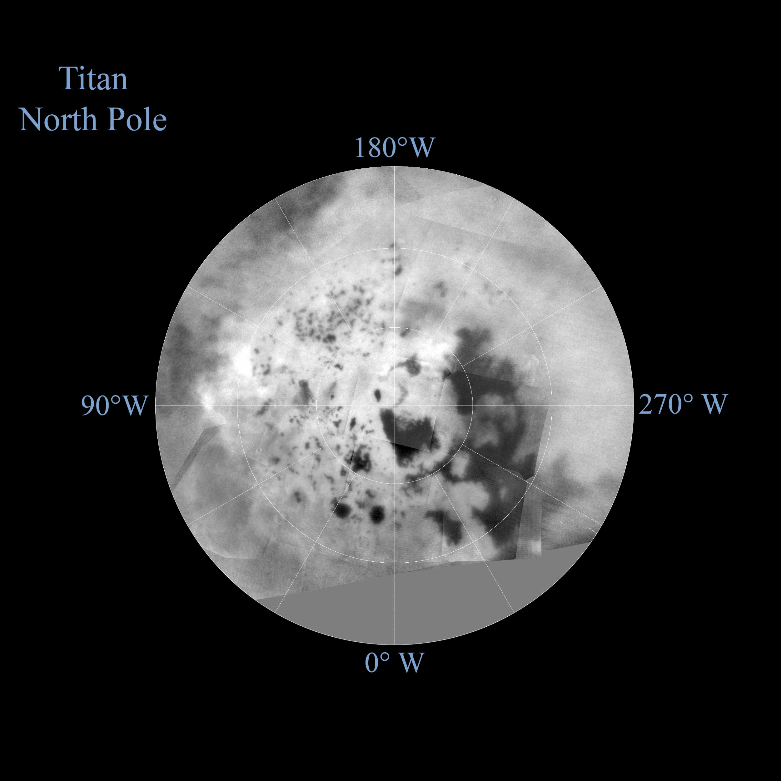 Nasa Releases Updated Maps Of Saturn S Moon Titan Space