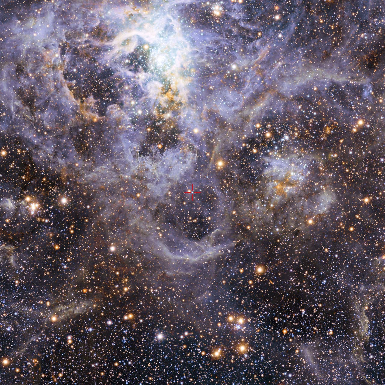 VFTS 352: Astronomers Spot Hottest, Most Massive
