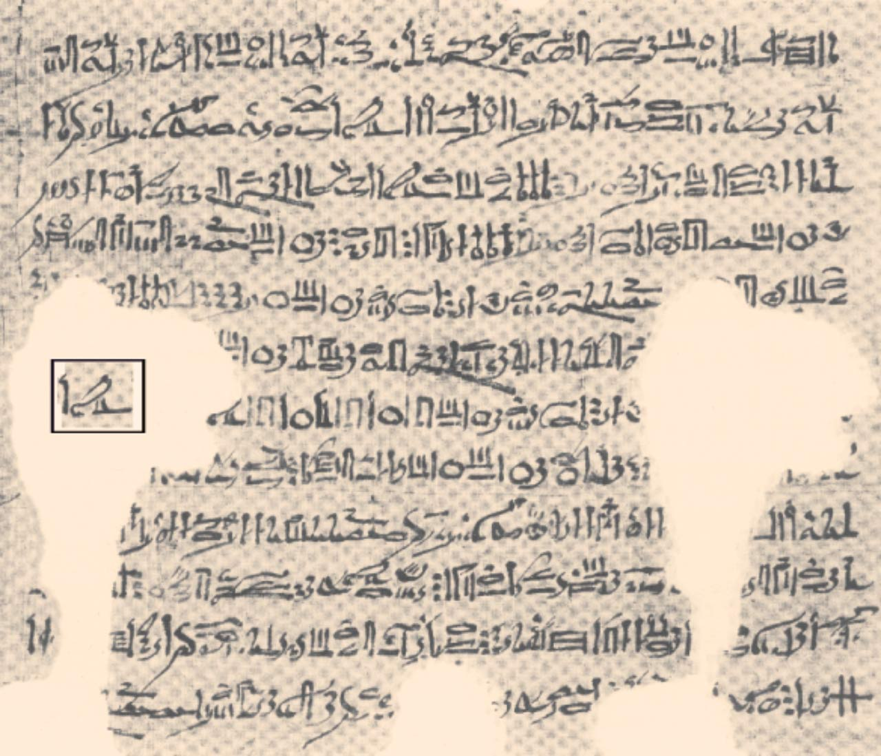 3 200 year old papyrus contains astrophysical information about