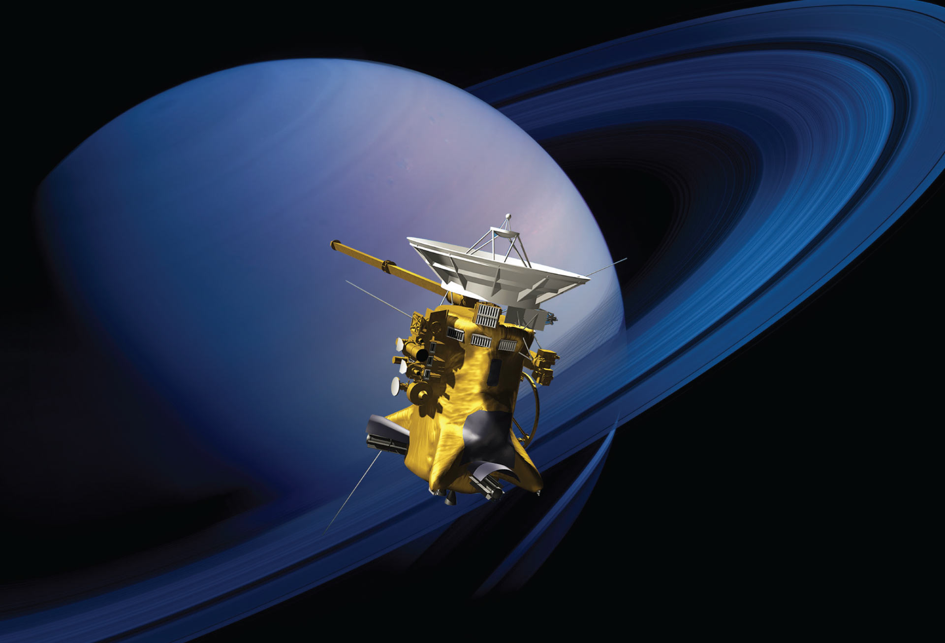 Spaceship to 'graze' Saturn's rings in daring operation — NASA mission