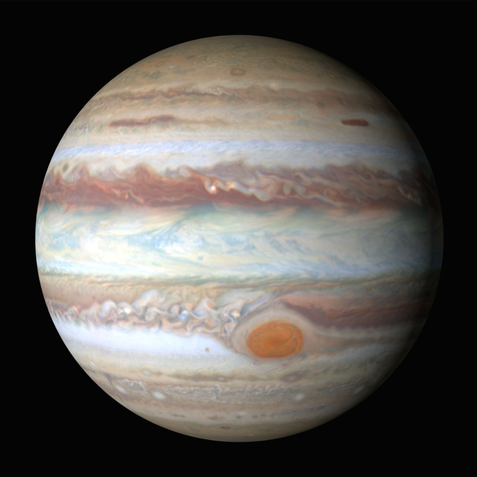 Real Pictures Of Jupiter The Planet Teasing Out the...