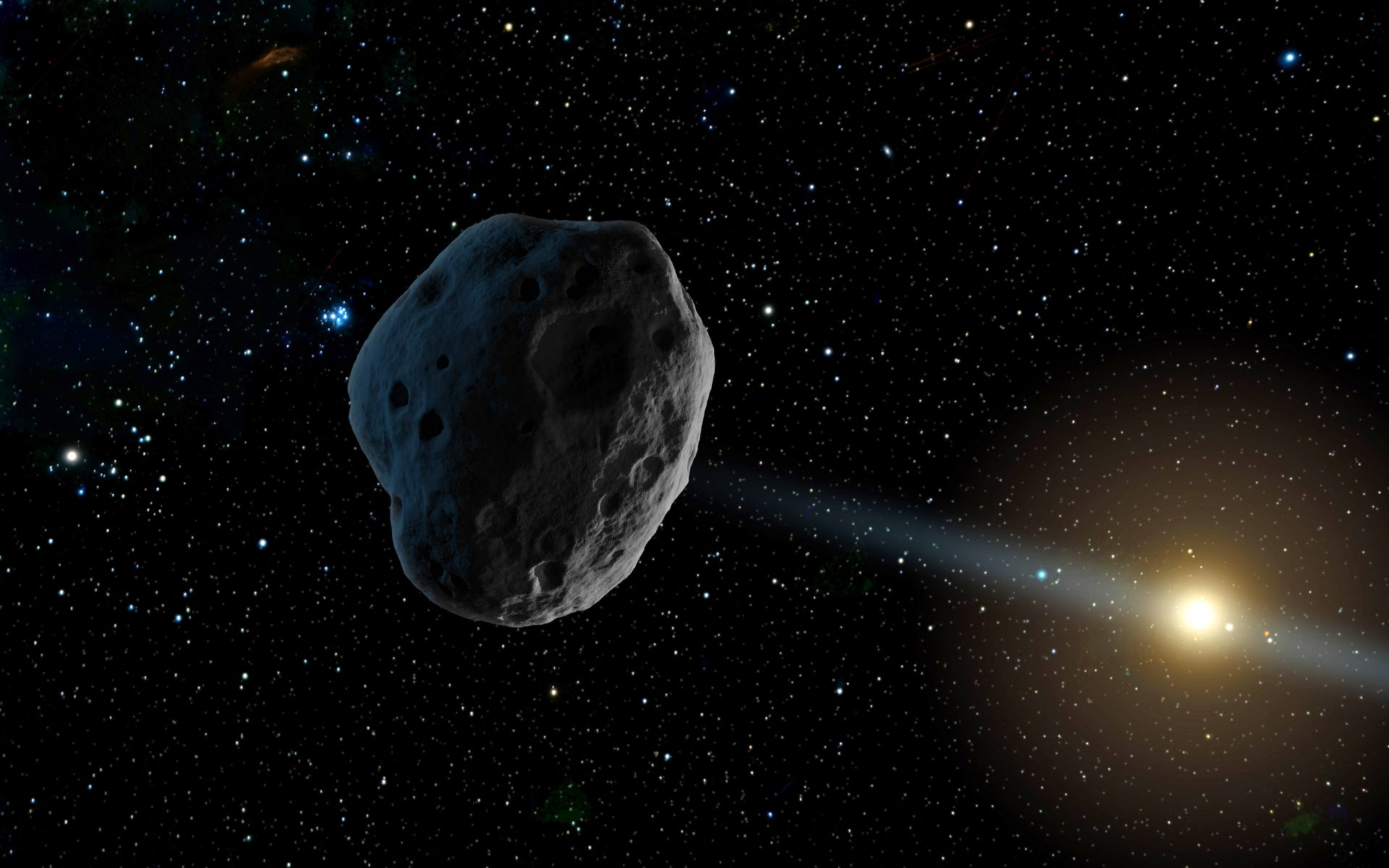 Near earth objects and amateur astronomy