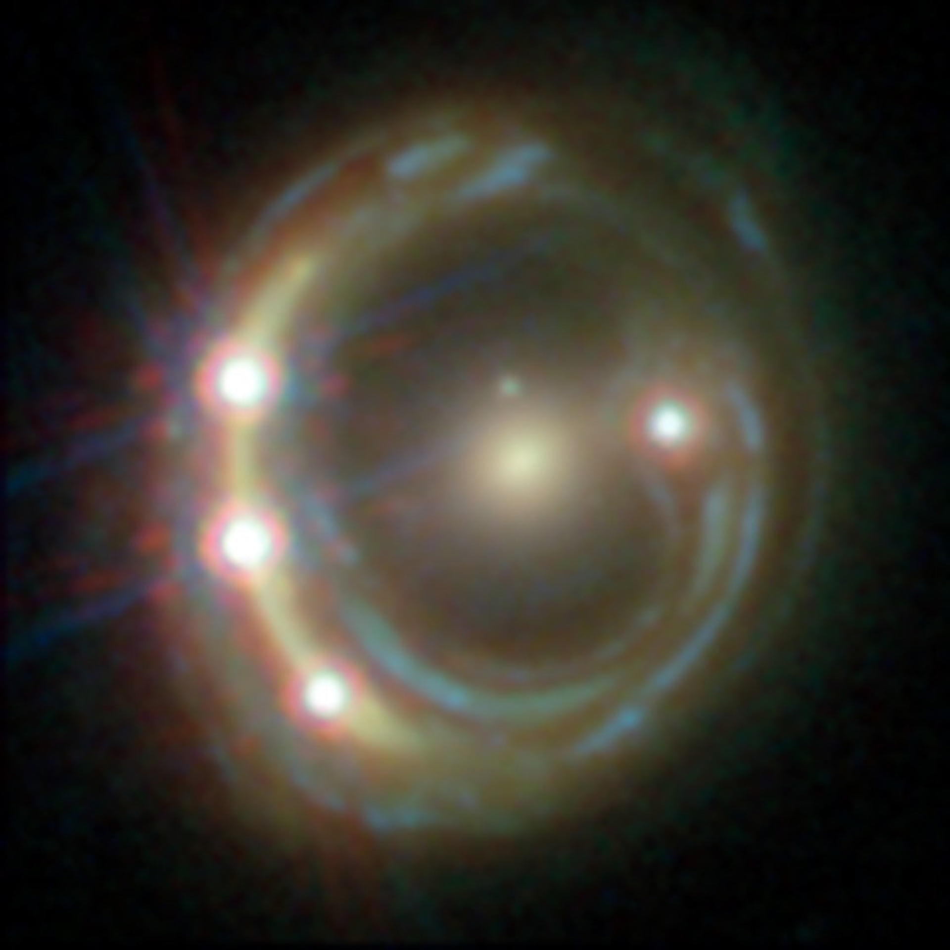 Astronomers Use Gravitational Lensing to Measure Hubble ...
