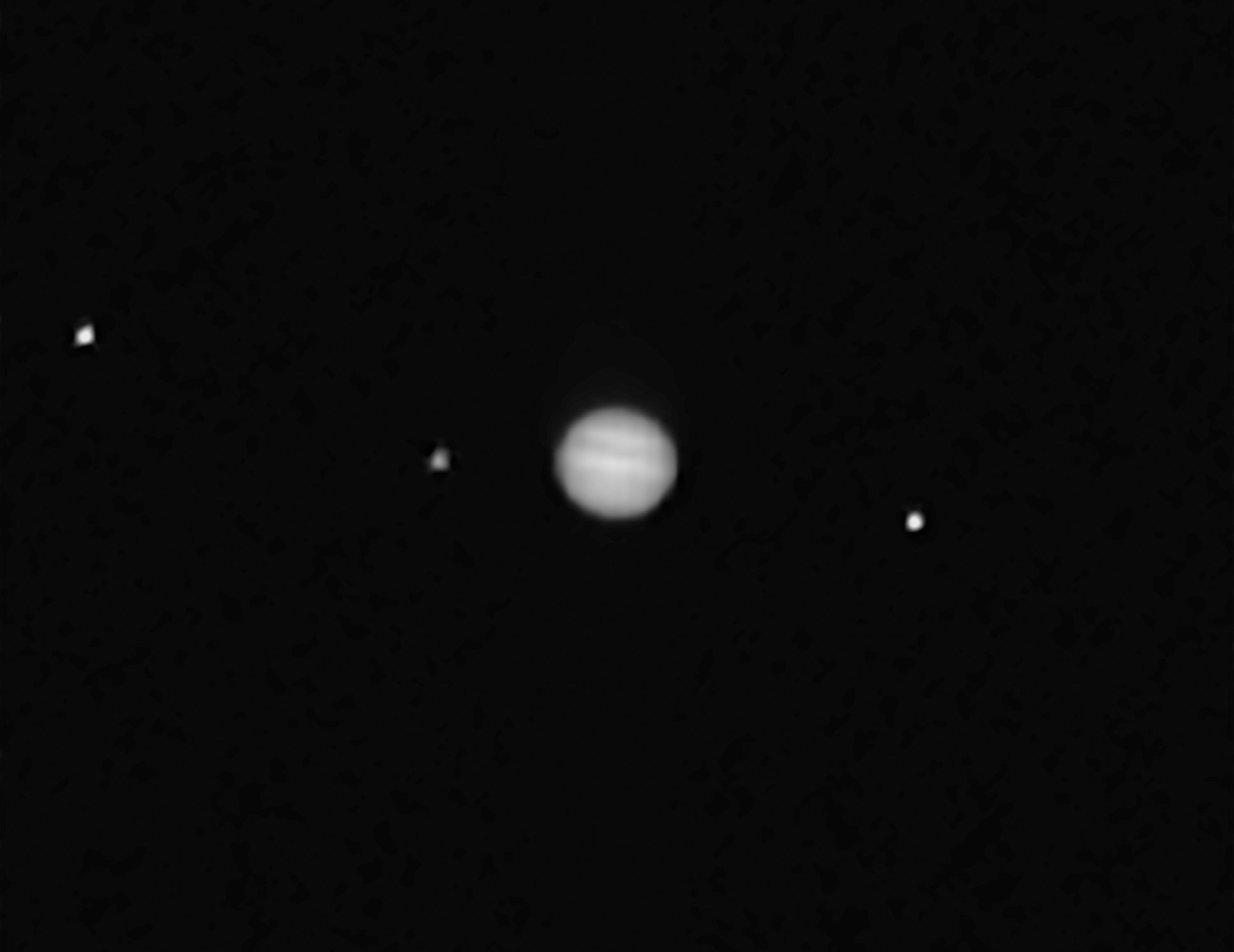OSIRIS-REx Takes Its First Images of Jupiter and Galilean ...