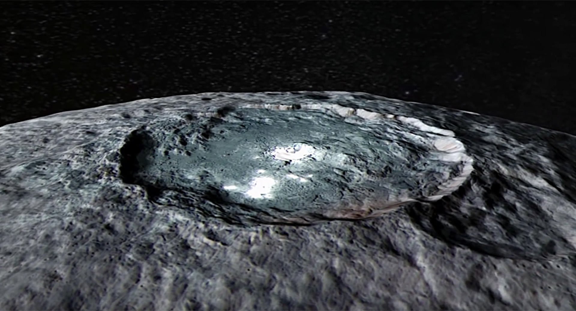 ceres transient exosphere is product of solar activity planetary