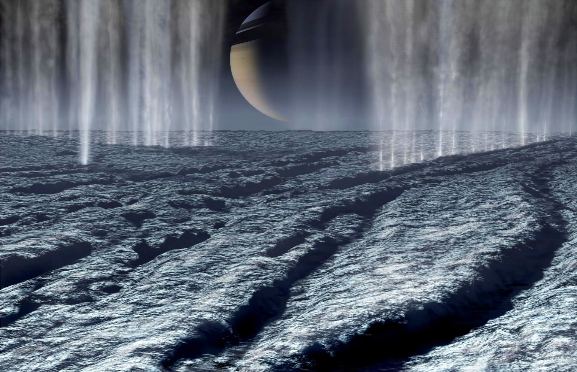 the moon enceladus of saturn essay The 15 most compelling scientific findings that suggest aliens are real  in addition to those on europa and enceladus,  saturn's largest moon,.
