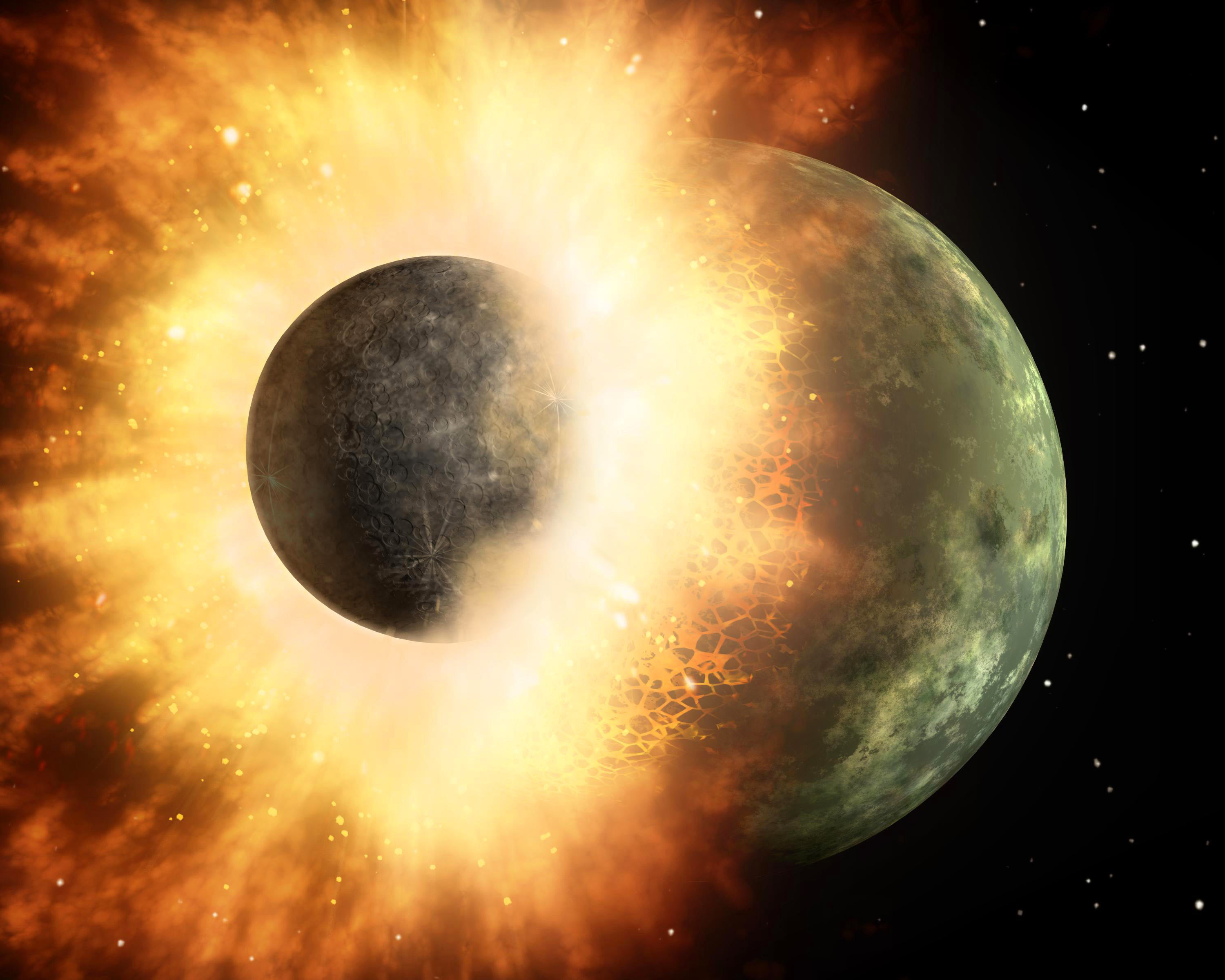 When and How Did the Moon Form?