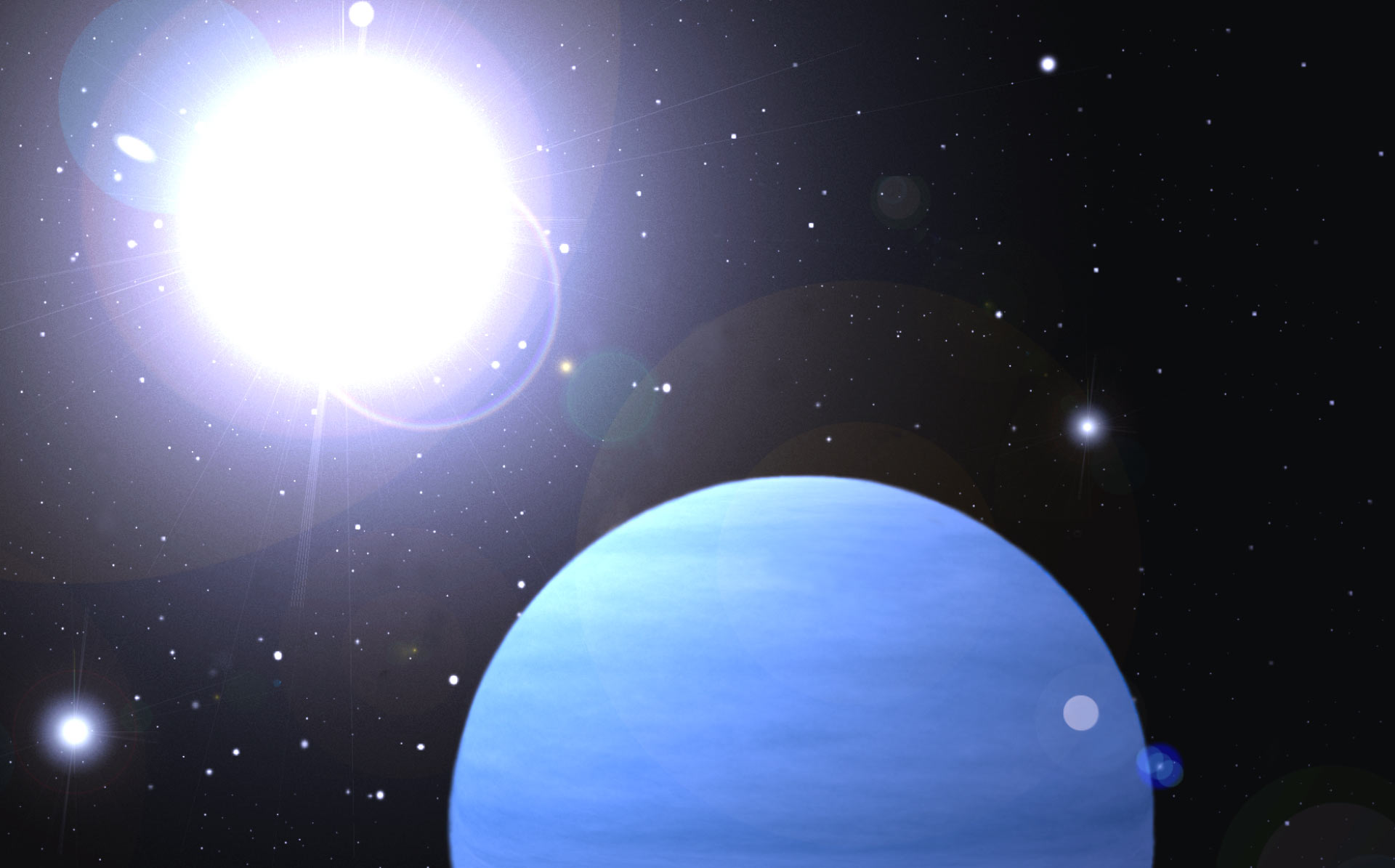 It's never cloudy on this newly discovered exoplanet
