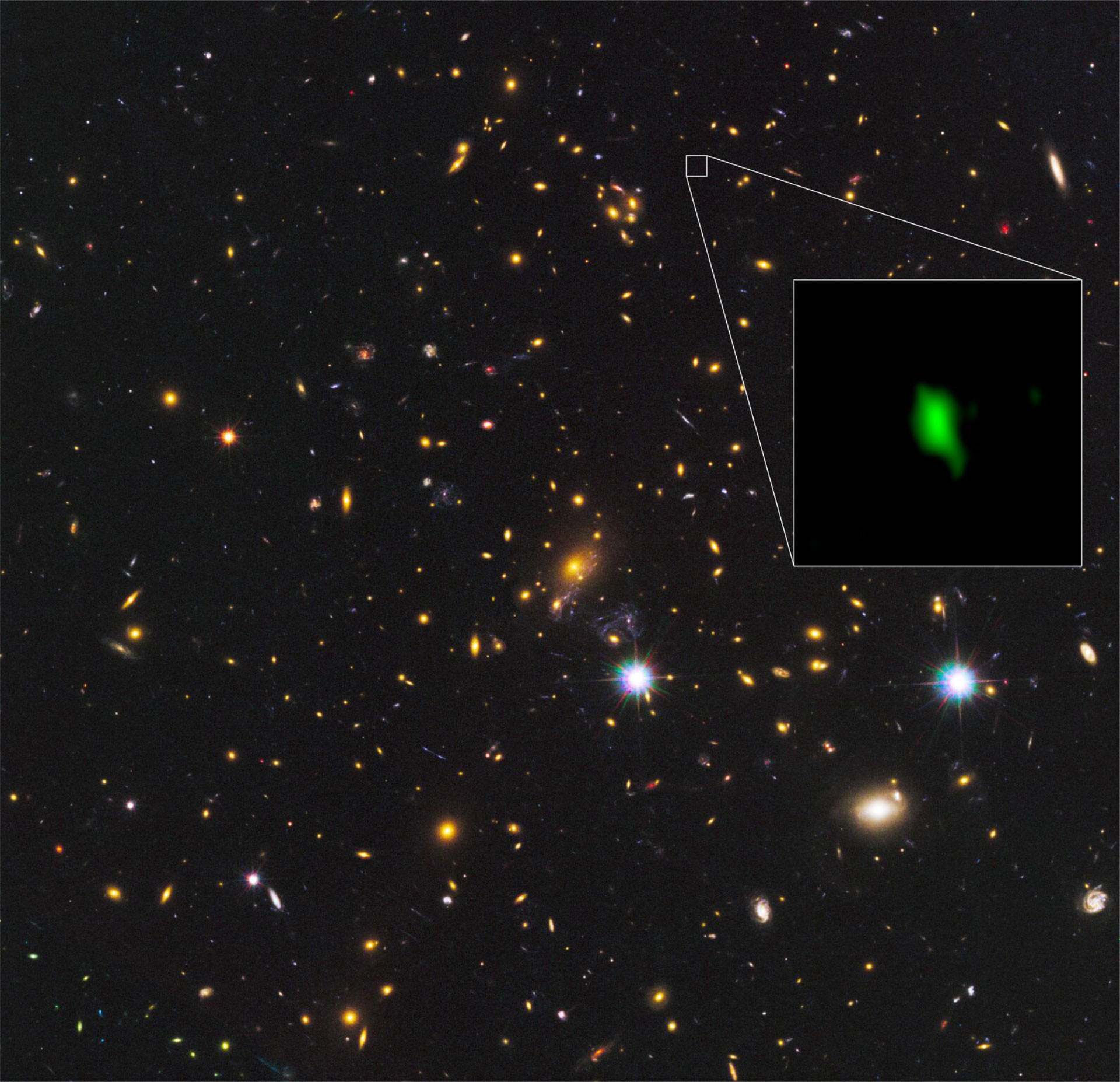 Scientists find earliest known oxygen in far off galaxy