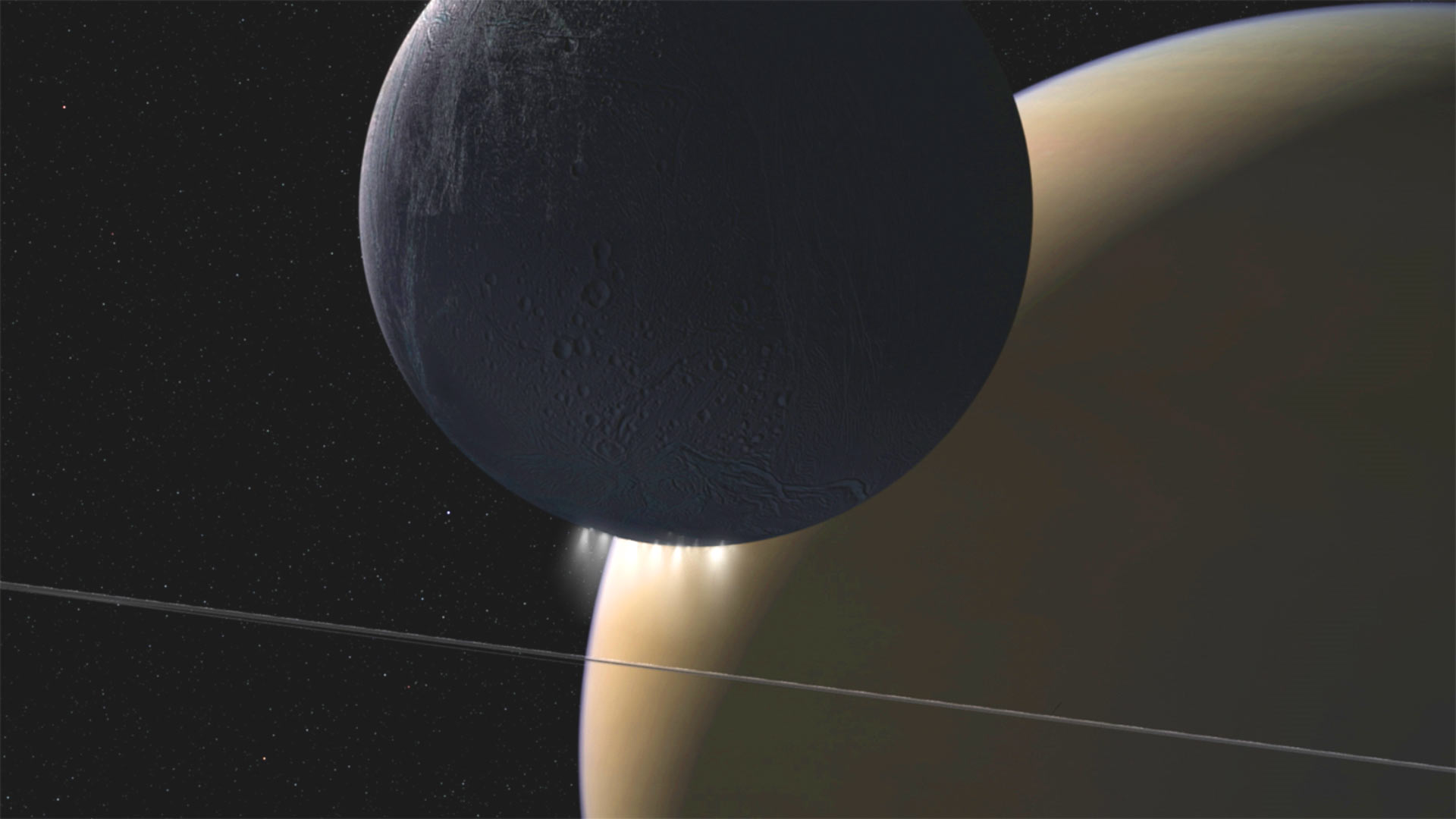 Scientists have recorded emanating from Saturn music