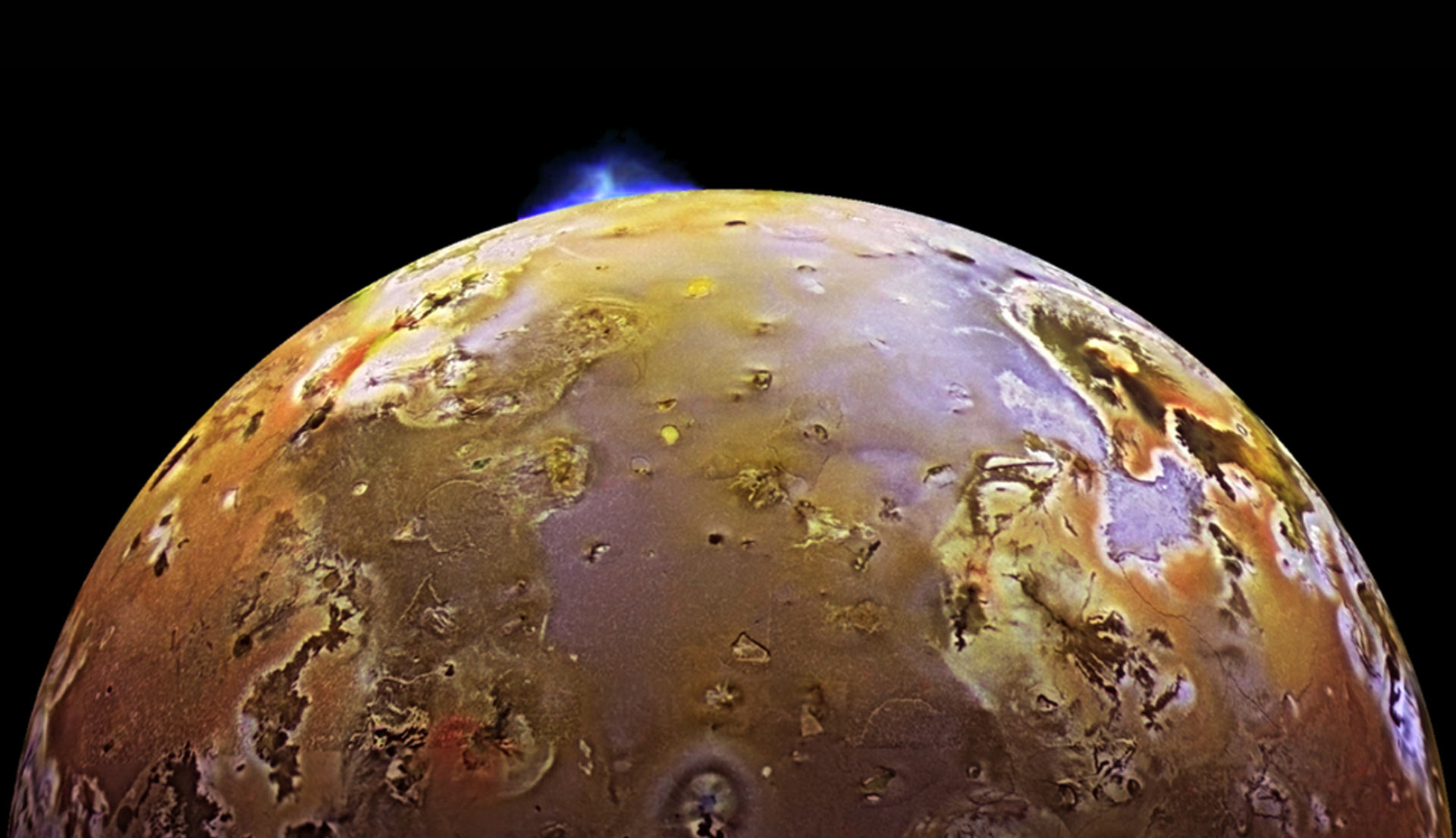 Juno discovered a new volcano on Io 36