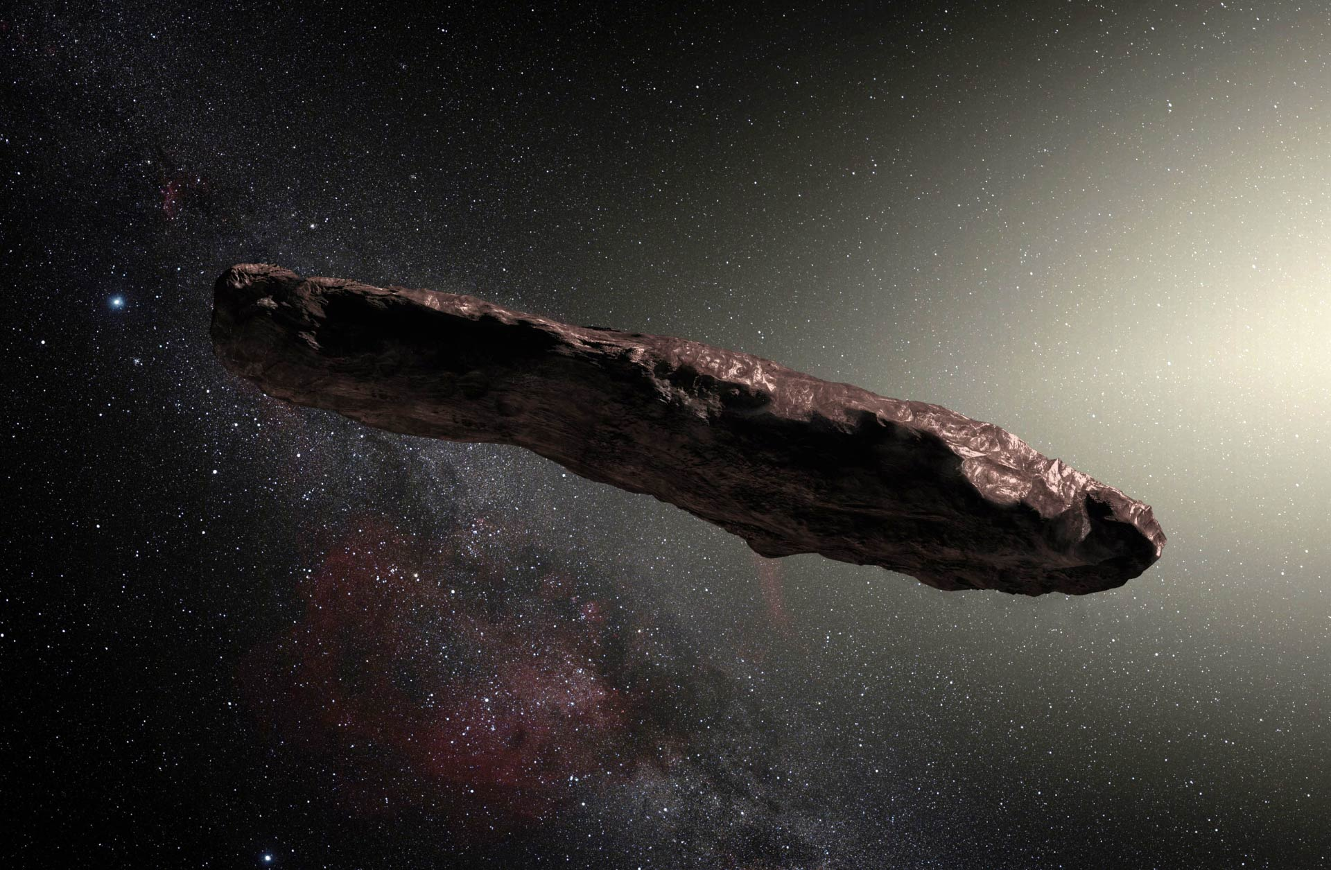 New Study Reveals More About Mysterious 'Oumuamua Interstellar Asteroid