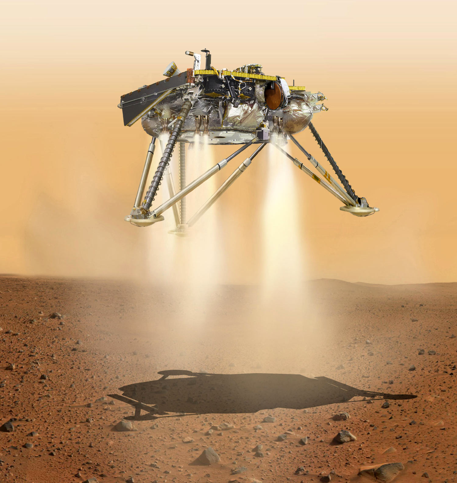 NASA Probe Lands Safely On Martian Surface 03:19 Download