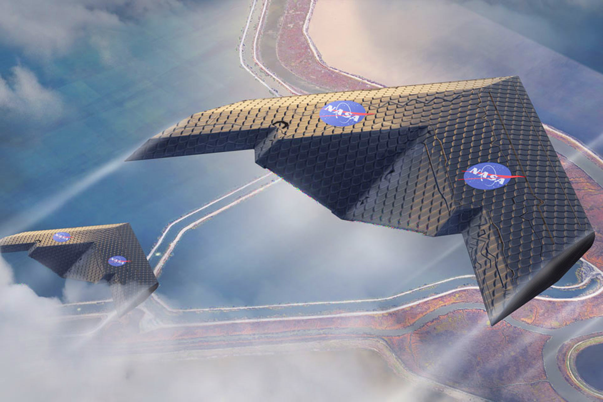 NASA and MIT model new airplane wing for flight efficiency