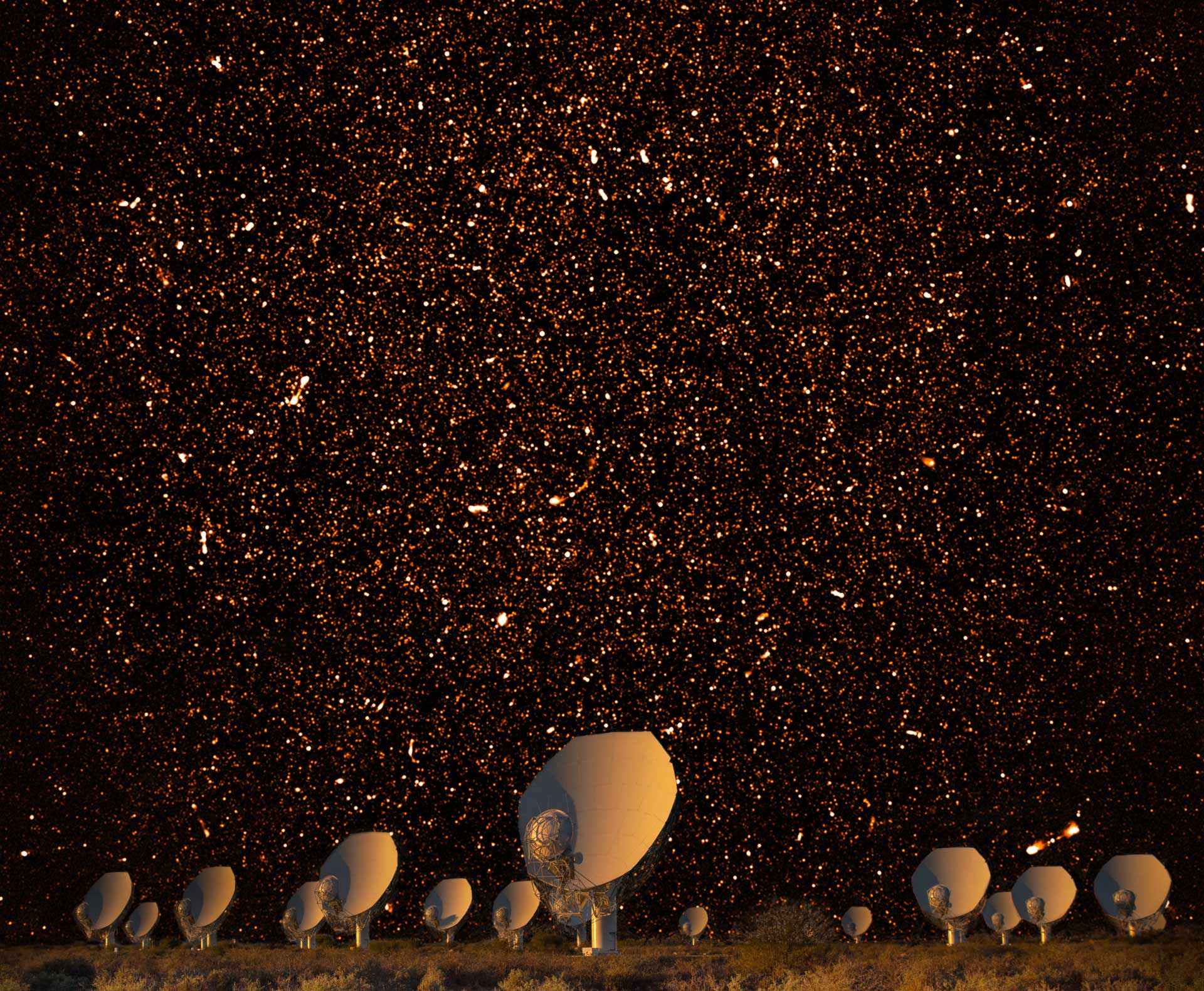 Meerkat Radio Telescope Spots Thousands Of Star Forming Galaxies Astronomy Sci News Com