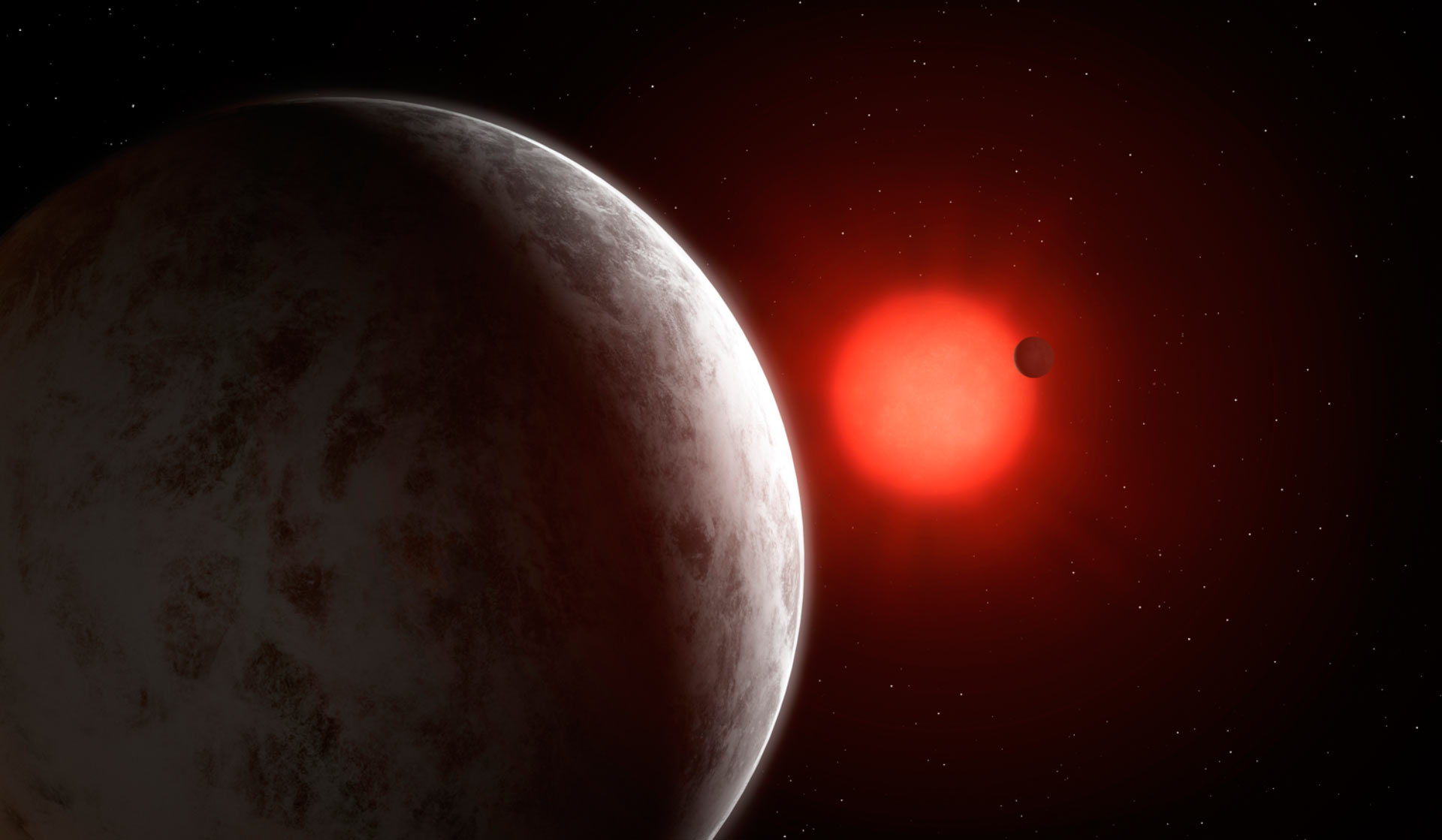 Astronomers have discovered two super-Earths orbiting the star of 11 light-years