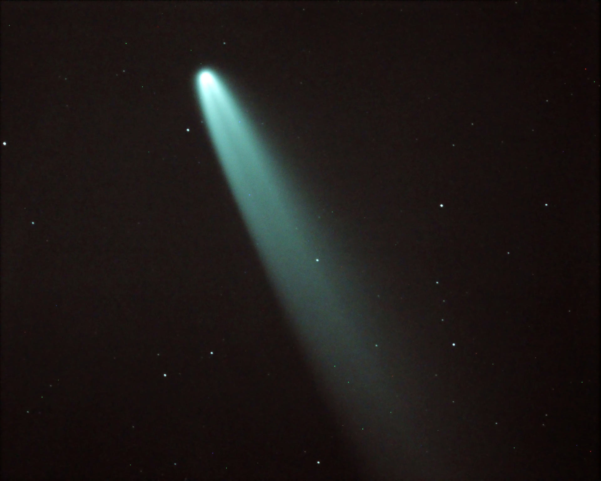 Comet Neowise: Astronomer's images of comet over Norfolk